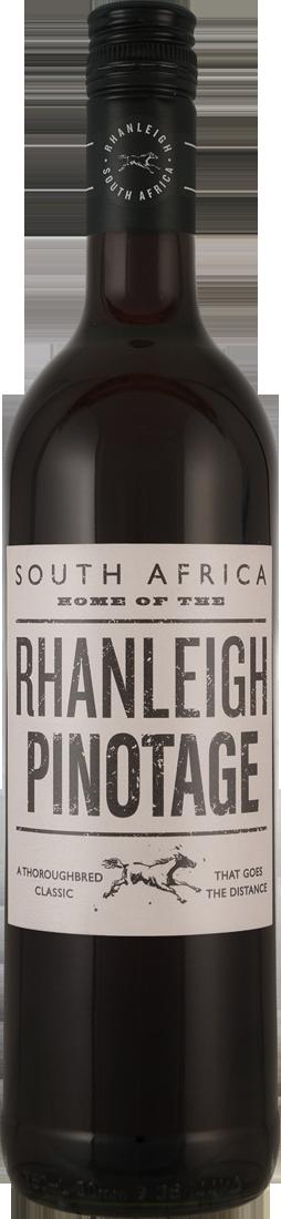 Rotwein Arabella Wines Rhanleigh Pinotage Western Cape 7,99€ pro l