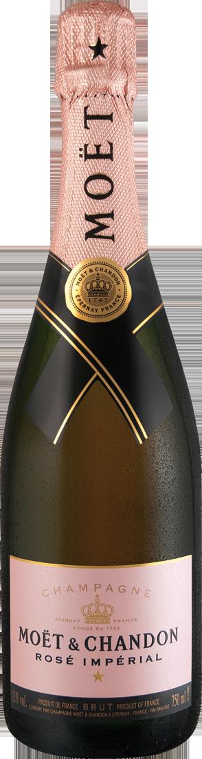 Roséwein Moët & Chandon Champagner Rosé Impérial Champagne 61,20? pro l
