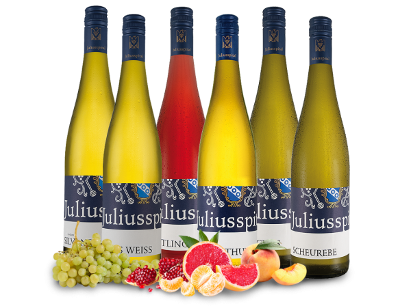 Kennenlernpaket Gutsweine von Juliusspital aus Franken