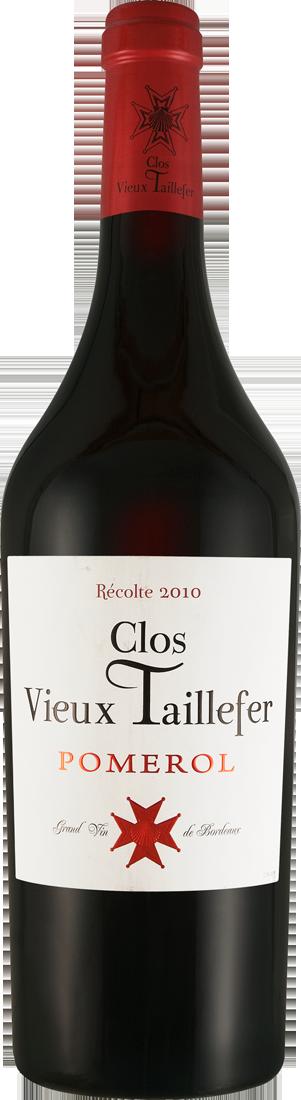 Rotwein Clos Vieux Taillefer Pomerol AOC Bordeaux 72,00? pro l