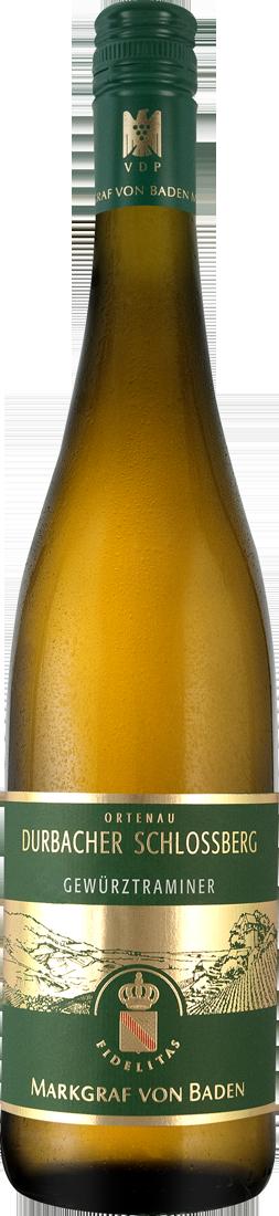 Weißwein Markgraf von Baden Durbacher Schlossberg Gewürztraminer 17,20€ pro l