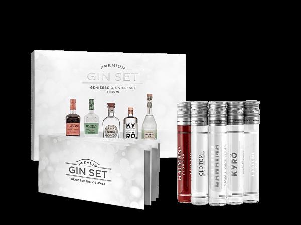 Premium Gin Set 5x 0,05l