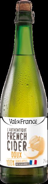 Les Celliers Associés L'Authentique French Cider Doux 2% vol.