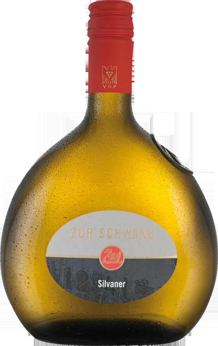Weißwein Zur Schwane Volkacher Silvaner trocken...