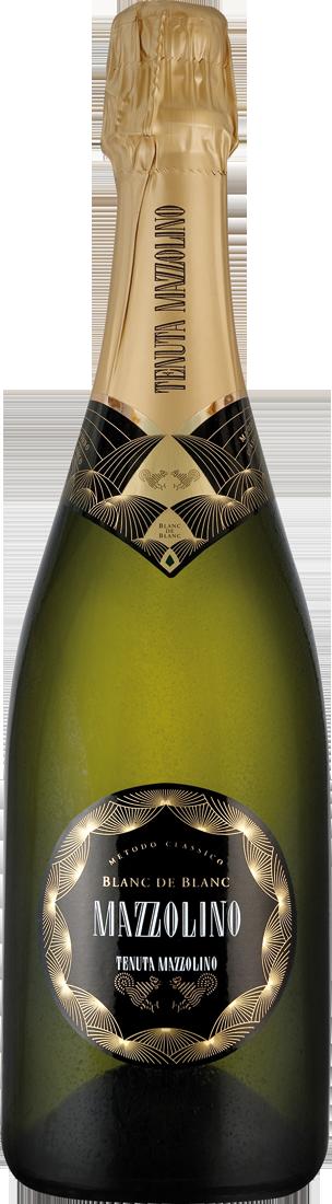 Weißwein Tenuta Mazzolino Blanc de Blancs Spumante Metodo Classico Brut VSQ Lombardei 11,87€ pro l