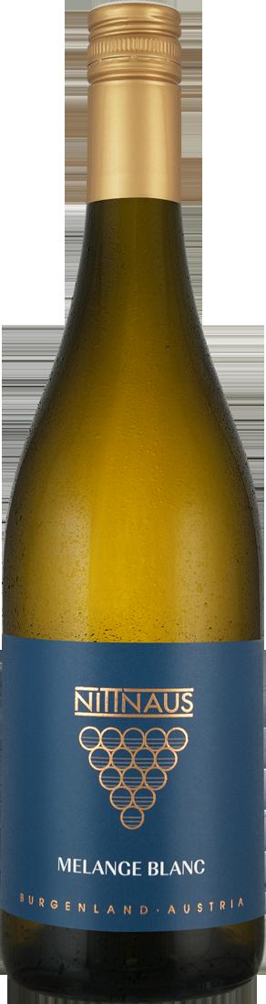 Weißwein Nittnaus MELANGE BLANC Weißburgunder & Grüner Veltliner Burgenland 7,99? pro l