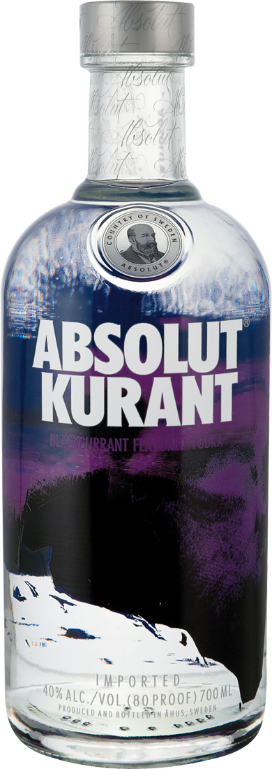 Absolut Kurant Vodka 40% vol.22,84€ pro l
