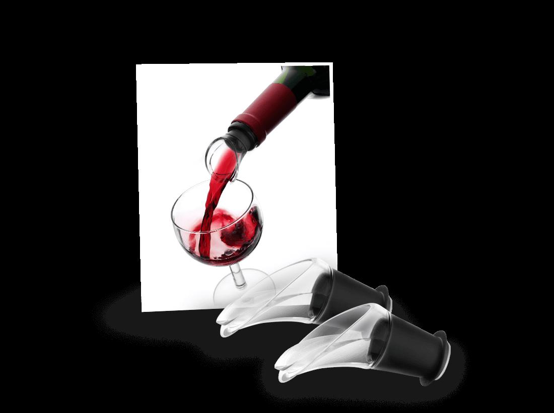 Vacu Vin Weinausgießer Crystal 2er Set