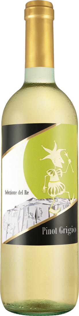 Weißwein Agricole Selvi Pinot Grigio Selezione del Re IGT Sizilien 15,99? pro l