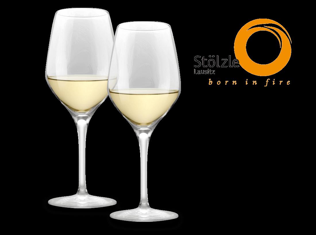 Image of Stölzle Weißweinglas Exquisit 2er Set