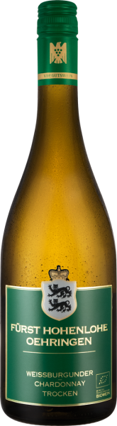Fürst Hohenlohe Oehringen Weissburgunder - Chardonnay VDP.Gutswein