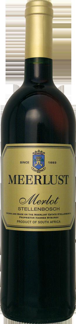Rotwein Meerlust Merlot Stellenbosch Stellenbos...