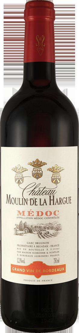 Rotwein Château Moulin de la Hargue Médoc AOC Bordeaux 15,99? pro l