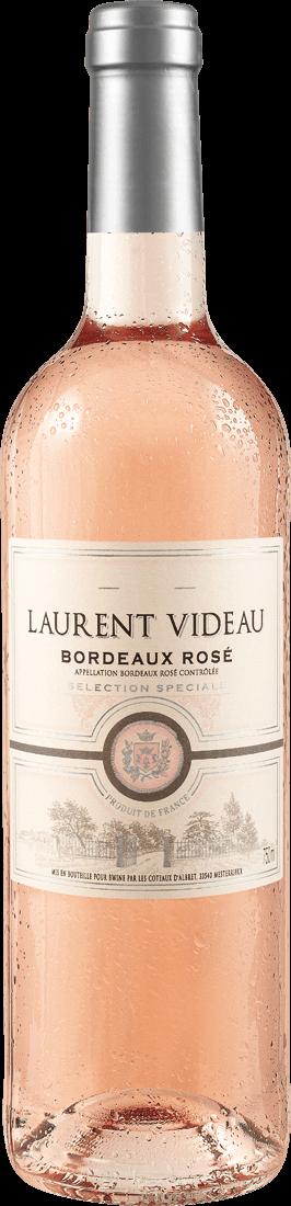Roséwein Laurent Videau Bordeaux Rosé Sélection Spéciale AOC Bordeaux 8,65? pro l