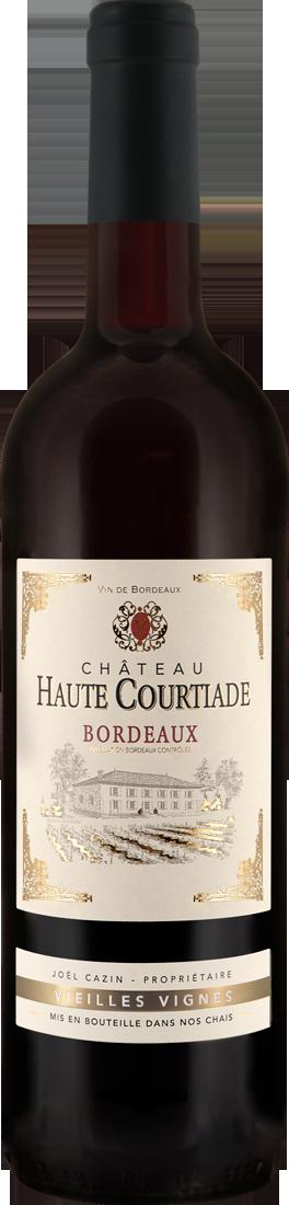 Rotwein Château Haute Courtiade Vieilles Vignes Bordeaux AOC Bordeaux 7,32? pro l