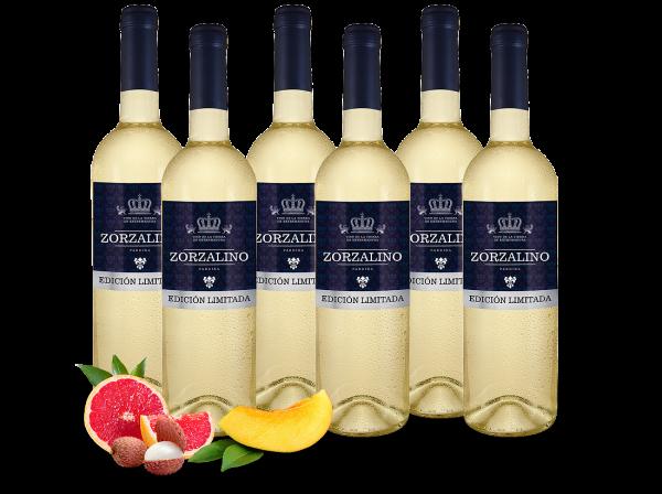 Probierpaket 6 Flaschen Viñaoliva Pardina Zorzalino Bianco