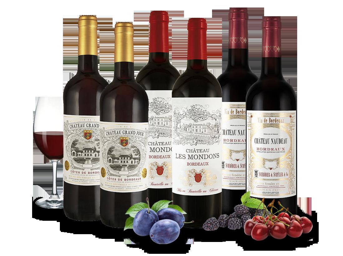 Verschiedene Weingenuss von kleinen Châteaux8,89€ pro l