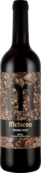 Bodegas del Medievo Rioja Tempranillo Organic Wine D.O.C.