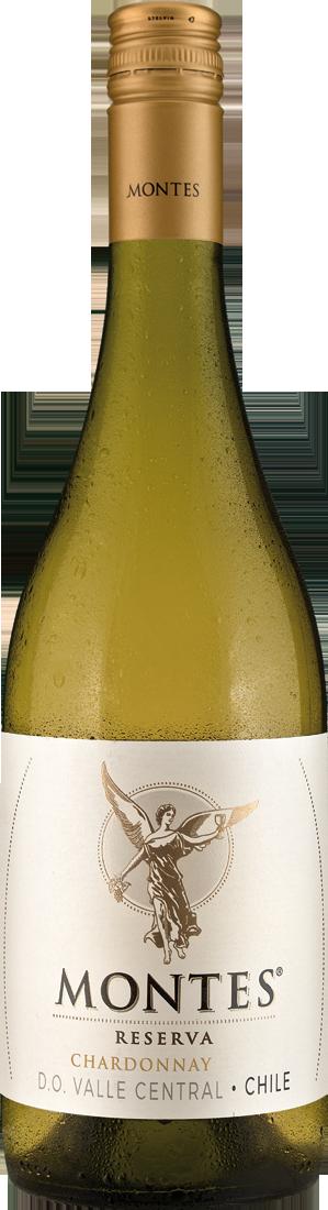 Weißwein Montes Chardonnay Reserva Colchagua Valley 9,19€ pro l