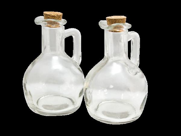 Öl- und Essigkaraffe 2er Set à 175 ml