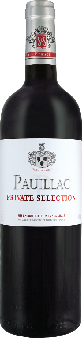 Rotwein Schröder & Schÿler Pauillac Private Selection AOC Origine Grand Vin Bordeaux 29,20? pro l