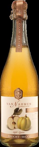 Van Nahmen Fruchtsecco Apfel - Quitte 0,75 l alkoholfrei