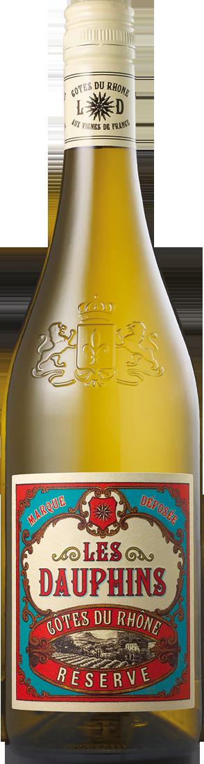 Weißwein Les Dauphins Réserve Blanc Rhône 9,05? pro l