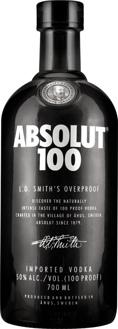 Absolut 100 Black Vodka 50% vol.33,57€ pro l