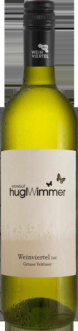 Weißwein Hugl-Wimmer Grüner Veltliner Weinviertel DAC Weinviertel 10,65? pro l