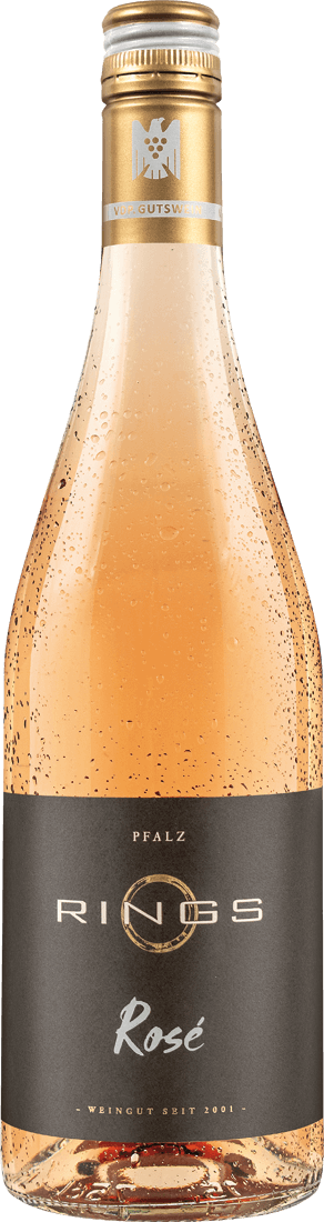 Roséwein Rings Rings Rosé Pfalz 10,53€ pro l