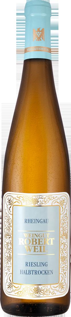 Weißwein Robert Weil Riesling halbtrocken VDP.Gutswein Rheingau 17,87€ pro l