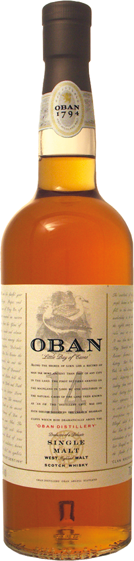 Oban Scotish Malt Whisky 14 Jahre 43% vol.64,13€ pro l