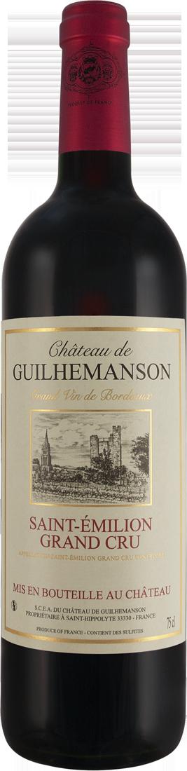 Rotwein Château de Guilhemanson Saint-Émilion Grand Cru AOC Bordeaux 22,65? pro l