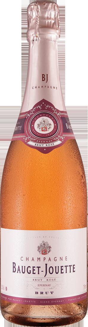 Roséwein Champagner Bauget-Jouette Brut Rosé Champagne 38,53€ pro l