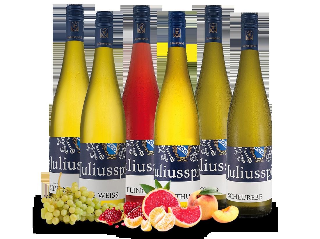Kennenlernpaket Gutsweine von Juliusspital aus Franken10,00€ pro l jetztbilligerkaufen