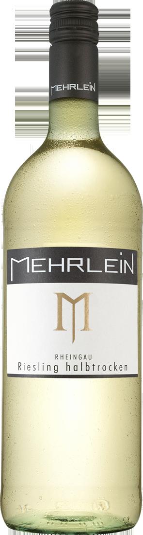 Weißwein Mehrlein Rheingau Riesling ´´Hallgartener Mehrhölzchen´´ halbtrocken 1l Rheingau 6,69€ pro l