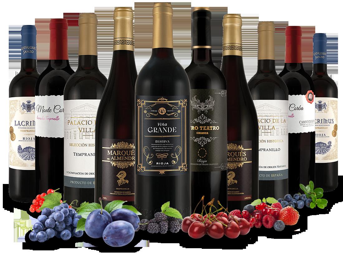 Probierpaket Spanische Weinkunst8,00? pro l