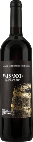 Javier Rodriguez Valsanzo Tempranillo Roble Palatinate Oak D.O.