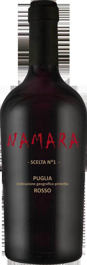 Rotwein Vigneti del Salento Primitivo-Sangiovese NAMARA Scelta N°1 IGP Apulien 9,32? pro l