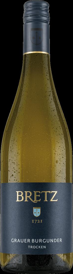 Weißwein Ernst Bretz Grauer Burgunder trocken Q...