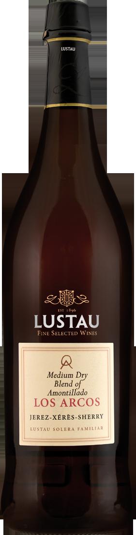 Emilio Lustau Rotwein Sherry Amontillado Los Arcos Medium Dry Jerez 18,52€ pro l