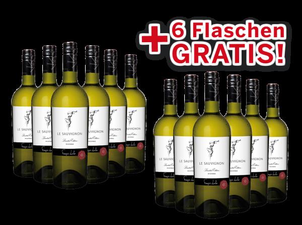 Vorteilspaket 12 für 6 François Lurton LE SAUVIGNON Limited Edition