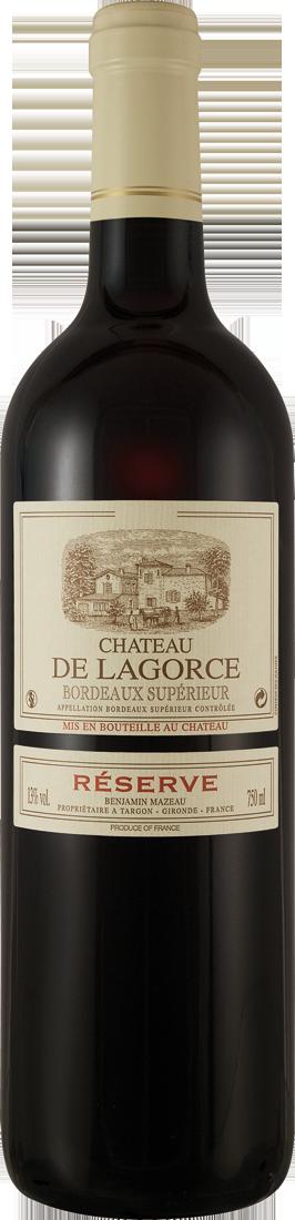 Rotwein Château de Lagorce Réserve Bordeaux Sup...