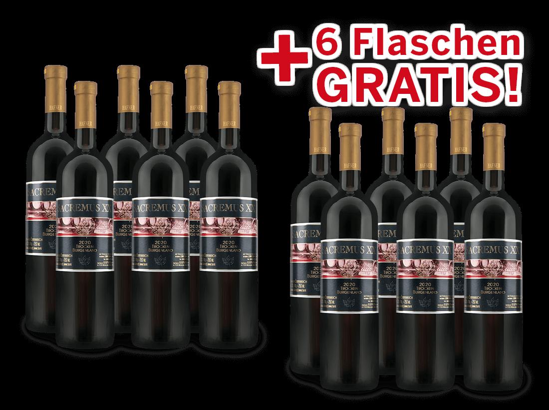 Vorteilspaket 12 für 6 Hafner SACREMUS XV8,89? pro l