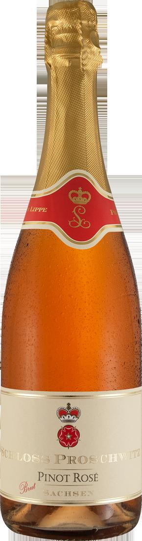 Roséwein Schloss Proschwitz Sekt Pinot Rosé Brut Sachsen 25,33? pro l