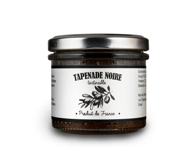 Tartinable Tapenade noire / Olivenpaste schwarz 100 g