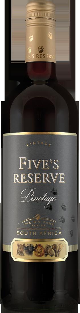Rotwein Van Loveren Fives Reserve Pinotage Western Cape 9,93? pro l