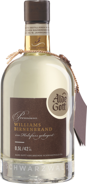 Alde Gott Premium Williams Birnenbrand Holzfassgereift 42% vol. 0,5l