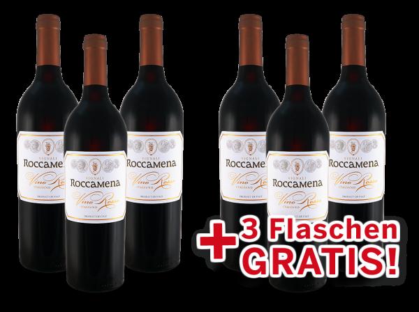 Vorteilspaket 6 für 3 Vignali Roccamena Vino Rosso