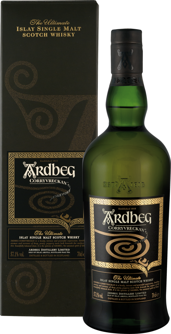 Ardbeg Corryvreckan Whisky 57,1% vol. Islay 99,86€ pro l